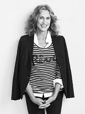 4. lauren hutton in jcrew