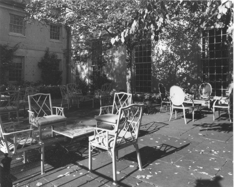 Cottage-terrace-circa-1970-susan-newton-collection