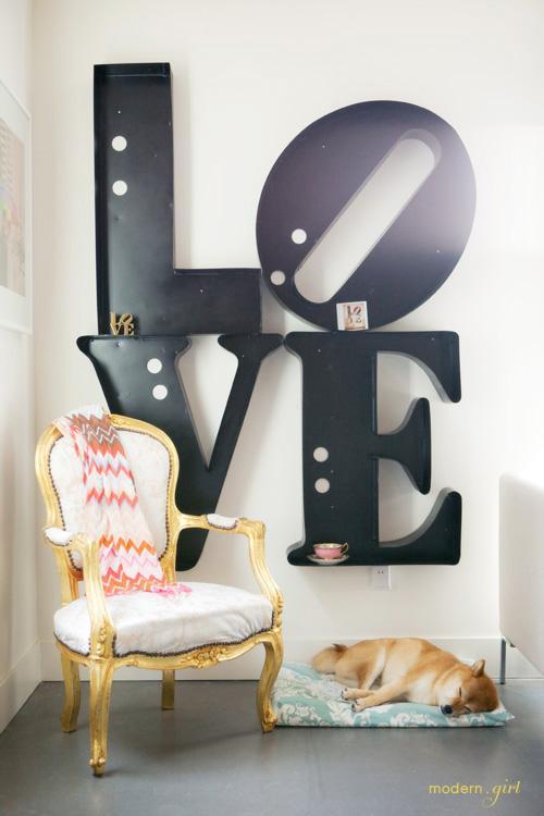 CG Blog - LOVE sign
