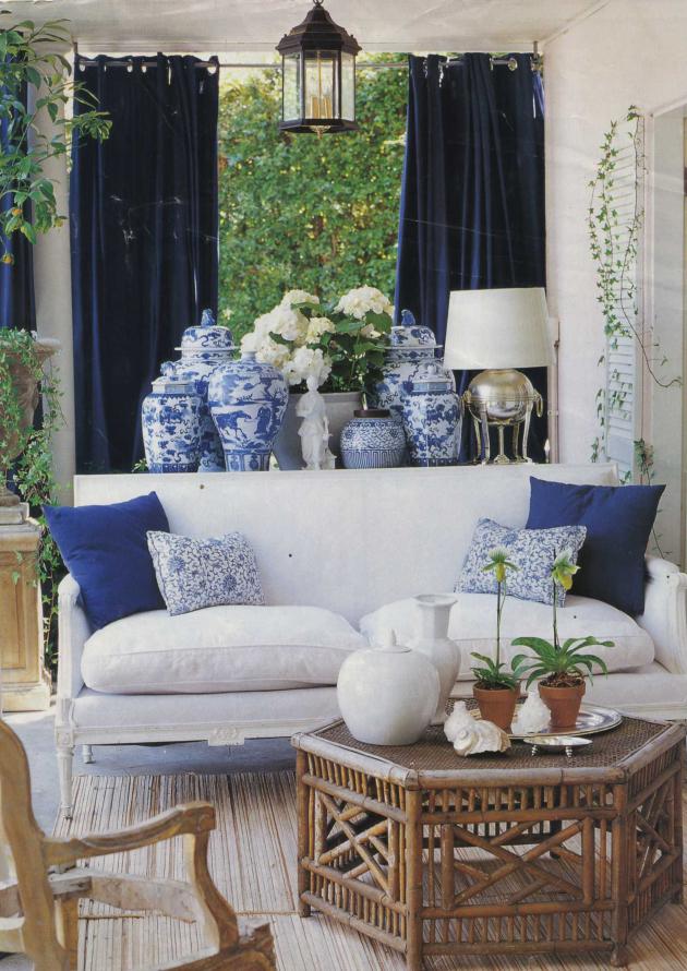 23. blue and white porcelain