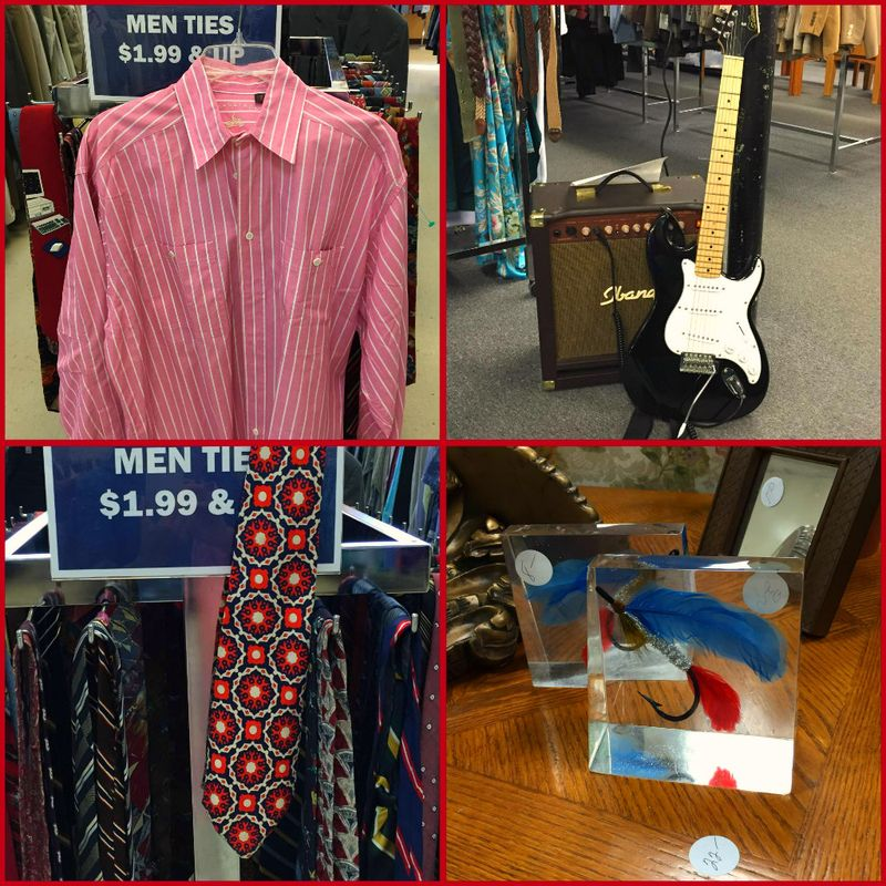 COLLAGE MEN'S STUFF